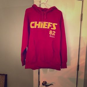 Throwback Dante' Hall KC Chiefs hoodie!
